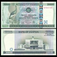 Uganda 20000 (20,000) Shillings, 2004, P-46a, UNC