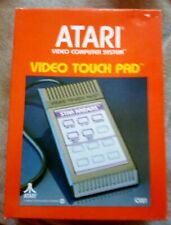 Original (Atari 2600) Video Game - Video Touch Pad Cartridge, Box & Instructions