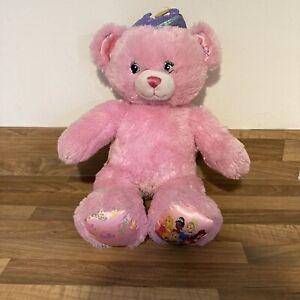 Build A Bear Pink Disney Princess Teddy Bear Plush Soft Toy