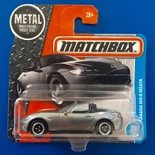2017 Matchbox JDM SILVER 2015 MAZDA MX-5 MIATA SPORTS convertible - mint card!