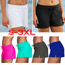 Womens Plus Size Tankini Swim Shorts Bikini Swimwear Boy Shorts Briefs Bottoms