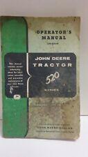 John Deere Tractor 520 Series