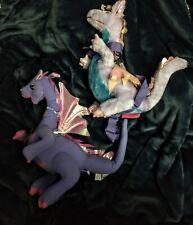 ~ NEW NWT -- Barbie Rapunzel Penelope Dragon Plush Backpack + BONUS Penelope Toy