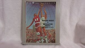 1972 WAPAHANI RAIDERS VS NORTHEASTERN KNIGHTS HIGH SCHOOL BASKETBALL PROGRAM