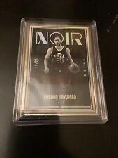 2016-17 Panini Noir Gordon Hayward #'d 10 /25 Basketball Metal  WOW!!!