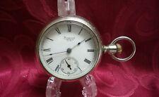 Vintage Antique American Waltham Pocket Watch Runs Well
