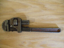 """Vtg 14"""" Dunlap Dependable Quality Monkey 2"""" Pipe Wrench Tool Forged in USA"""