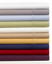 Salerno Collection Luxury Sateen 550 Thread Count King Sheet Set White W1668