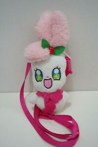 KiraKira Pretty Cure A La Mode Precure Kirarin Bandai Sling Bag Purse Zip Plush