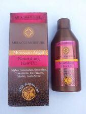 Marruecos aceite de Argán milagro de la humedad nutritiva aceite para el cabello suave Frizz añadir brillo!