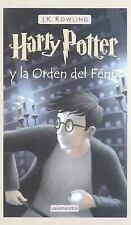 Harry Potter Y la Orden del Fenix by J. K. Rowling Spanish Paperback Book