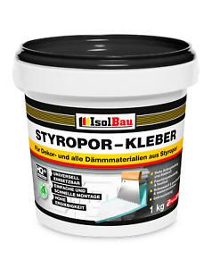 Styroporkleber 1 kg Renoviervlies Dispersionkleber Polymerbasis Innen- und Außen
