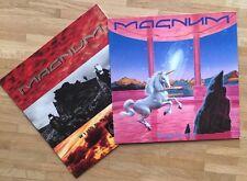 "Magnum Schallplatten Sammlung 2x 12"" LP (Vinyl, Hard Rock, Metal, 1st Press)"