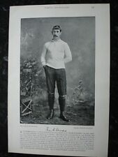 RARE Original Famous Footballers, #147 Frank Evershed, Oxford, Rugby 1895 - 96