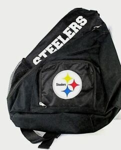 Concept One Football Accessories Sling Backpack (Pittsburgh Steelers)