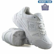 LADIES MEMORY FOAM SPORTS GYM FITNESS JOGGING RUNNING CASUAL TRAINERS SHOES SIZE