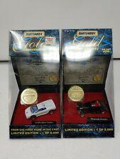 Matchbox Gold Collection Lamborghini Diablo & Plymouth Prowler 1996 1/5000 Made