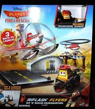Disney Planes Fire and Rescue Riplash Flyers Rip 'N' Rescue Headquarters Set NIB