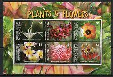 MICRONESIA 2015 PLANTS & FLOWERS  SHEET MINT NH