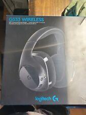 Logitech G533 DTS 7.1 Surround Wireless Gaming Headset In Box
