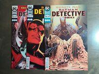 Batman Detective Comics 3 book lot #972(2nd print,973,974~VF-NM(DC Rebirth 2018)