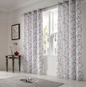 """Berry Red Embroidered Voile  lined curtains,less than 1/2 price, 56""""x 72"""""""