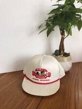 "Vintage Elliott ""amide ment Co."" Mason. Michigan Hat White One Size Ships N24h"