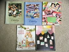 5 Stampin Up catalogs - 2003-2016 - AWESOME scrapbooking & card making ideas!