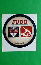 "JUDO MATCH SYMBOL LONDON 2012 OLYMPICS TV GETGLUE GET GLUE SM 1.5"" STICKER"