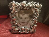 """Arthur Court Teddy Bear Picture Frame 6x5, Picture 3.50"""" X5"""" 1996"""