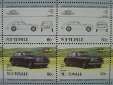 1956 JENSEN MOTORS 541 Grand Tourer GT Car 50-Stamp Sheet / Leaders of the World