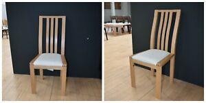 Ercol Bosco  1383C-CM  Chairs Cream Fabric  W44 D54 H98 SH46
