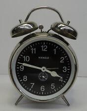 Älterer Glockenwecker mechanischer Kienzle Chrom Wecker Uhr Tischuhr ~ 1970er