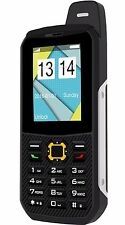 Plum Rugged Cell Phone GSM Unlocked Water Shock Proof IP68 Certified E500 Black