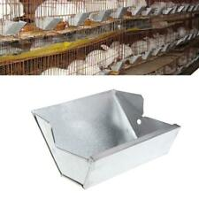 Pro Pet Rabbit Hutch Trough Feeder Drinker Bowl Farming Animal Equipment Tools.