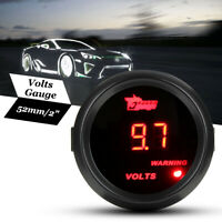 """2"""" 52mm 0-15V Digital Red LED Display Volt Voltmeter Voltage Gauge Car Meter"""