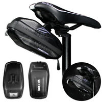 Waterproof Bicycle Saddle Storage Bag Cycling MTB Road Bike Tail Pouch 0.8L US