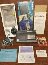 Sony ICF-SW800 Shortwave Radio Rare Collectible 1990's