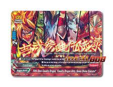 """Buddyfight x 1 Fifth Omni Cavalry Dragon, """"Cavalry Dragon Arts, Seven Divine Exe"""