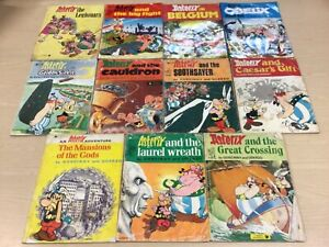 11 X Asterix Book Bundle The Legionary, The Big Fight, The Golden Sickle +