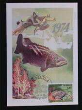 MONACO MK 1974 FISCHE WRACKBARSCH DIVER MAXIMUMKARTE CARTE MAXIMUM CARD MC c6866