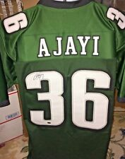 Jay Ajayi Philadelphia Eagles signed autographed replica Green Jersey