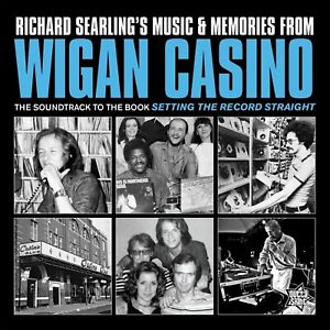 """Reproduction Northern Soul """"Wigan Casino"""" Poster, Home Wall Art, Size 16"""" x 16"""""""