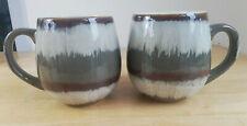 Pair of 2 x Large 'Gourmet Basics' Tea / Coffee Mugs from MIKASA