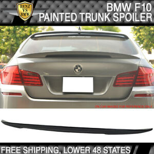 USA STOCK High Kick Performance2 11-16 F10 Trunk Spoiler Painted Carbon Black