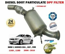 FOR BMW 1 SERIES 116D 118D 2006-> NEW DIESEL SOOT PARTICULATE DPF FILTER + KIT