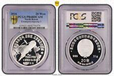 KOREA 20 Won 2016 Silver PCGS PR68DCAM Kwangmyongsong-3 Ballistic Missile Rocket