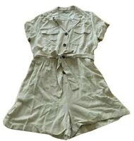 Ladies size 16 Neutral Utility summer playsuit play suit Target NEW $49