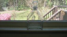 Luigi Bormioli Made in Italy Light & Music Clear Glass Decanter With Label