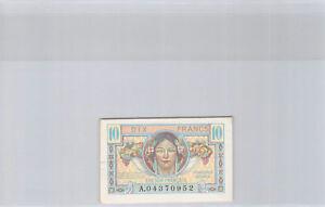 Trésor Français 10 Francs (1947) n° A04370952